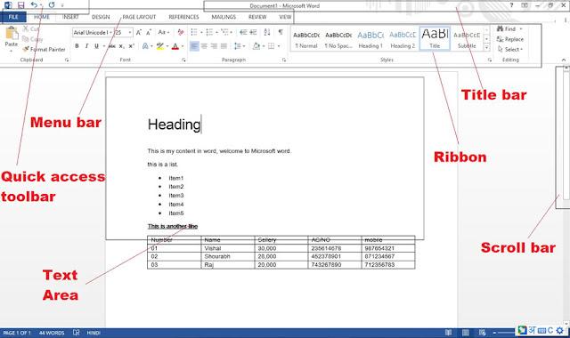 MS Word full Window