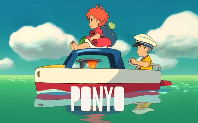 Ponyo / Gake no Ue no Ponyo / Ponyo on the Cliff by the Sea  (FILME COMPLETO)