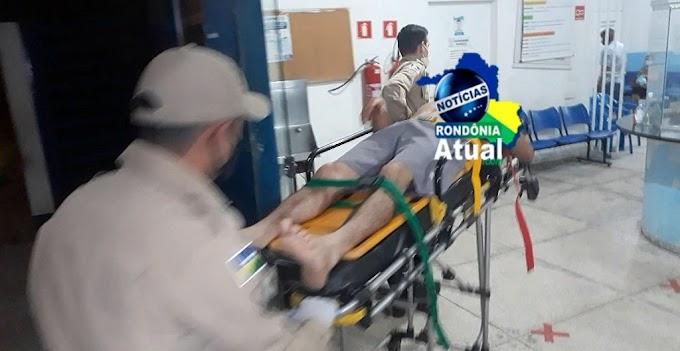 Urgente - Vítima de roubo é baleada nas costas em Ji-Paraná