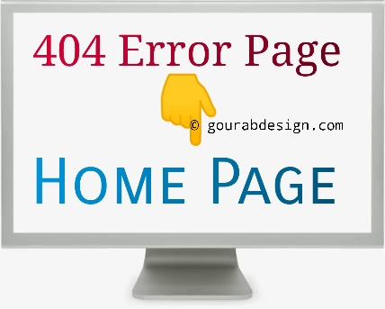 Automatic redirect 404 error page to home page
