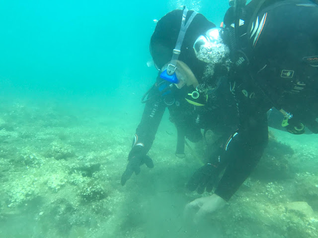 New discoveries at the Underwater Park of Baia