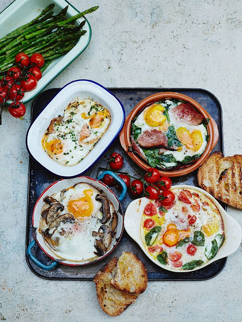 Baked eggs – Recipes This Morning