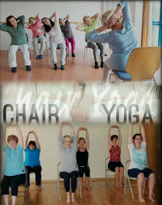 Senior Center in a Class Your First Chair Yoga, Senior center