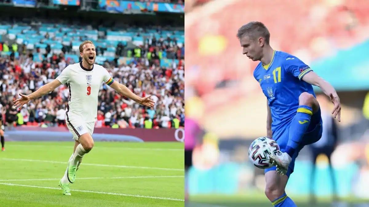 ملخص مباراة انجلترا واوكرانيا اليوم