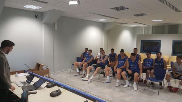 Ενημέρωση της FIBA στους αθλητές του Παγκοσμίου U19