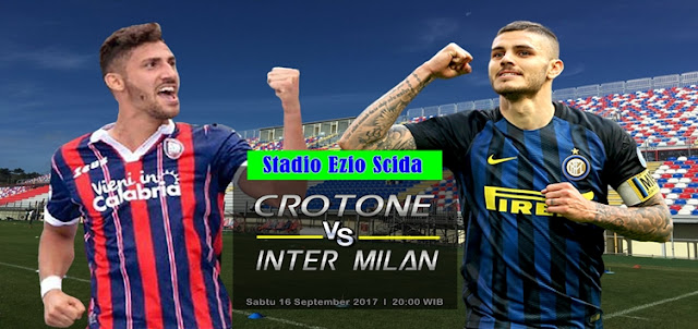 Prediksi Taruhan Bola 365 - Crotone vs Inter Milan 16 September 2017