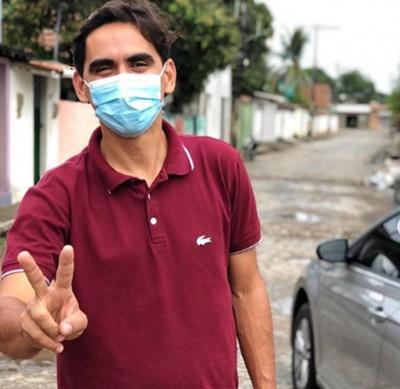Rodolfo Pires tem apoio de presidente do Bloco das Catraias de Maria Farinha