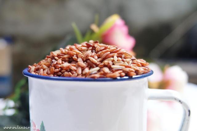 Cara Memasak Beras Merah Enak, Punel dan Banyak dengan Rice Cooker