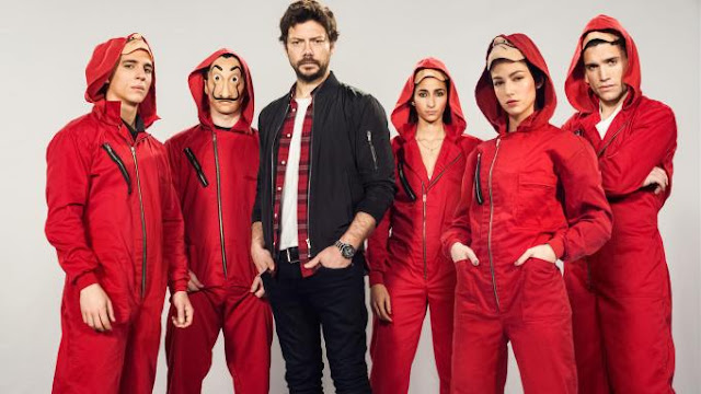 Summary of money heist (La Casa de Papel) season 1