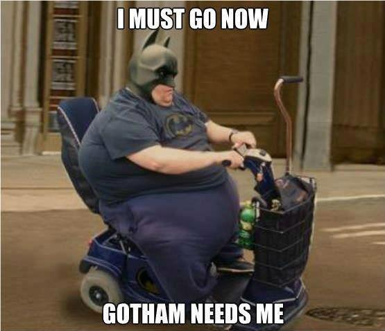 Funny Batman Batmobile Photo Image Caption