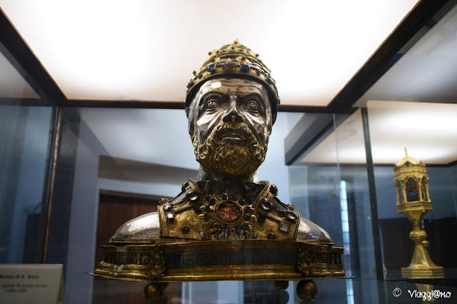 Busto nel Museo del Colle di Viterbo