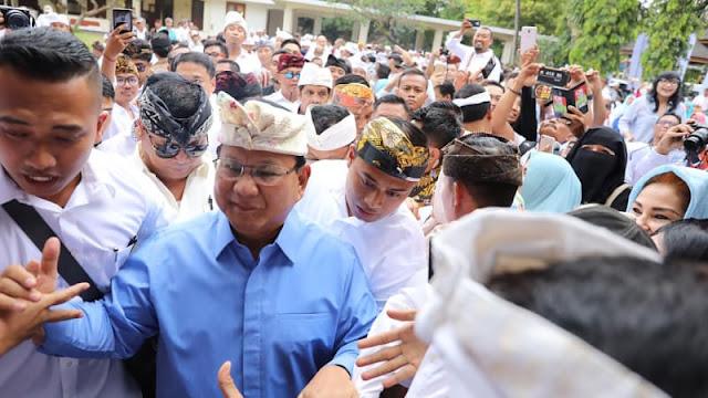Prabowo: Kita Tak Perlu Impor Lagi Karena Hancurkan Rakyat