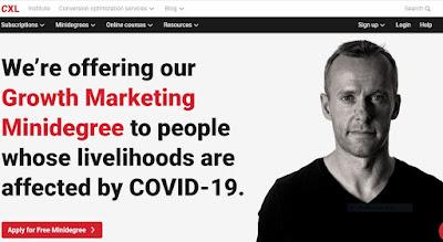 CXL Growth Marketing Minidegree Course