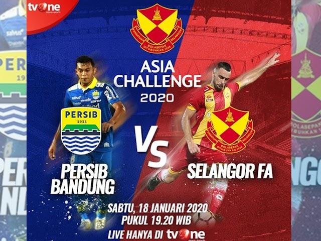 Ini Jadwal Persib di Asia Challenge Cup 2020