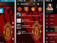 BBM MOD Manchester United V2.12.0.11 Apk  Terbaru