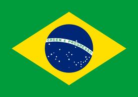 A bandeira atual do Brasil