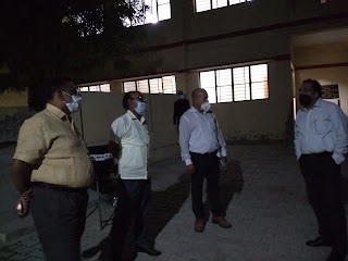 जौनपुर के एल—1 अस्पताल में भर्ती हैं गाजीपुर के 25 कोरोना मरीज | #NayaSabera