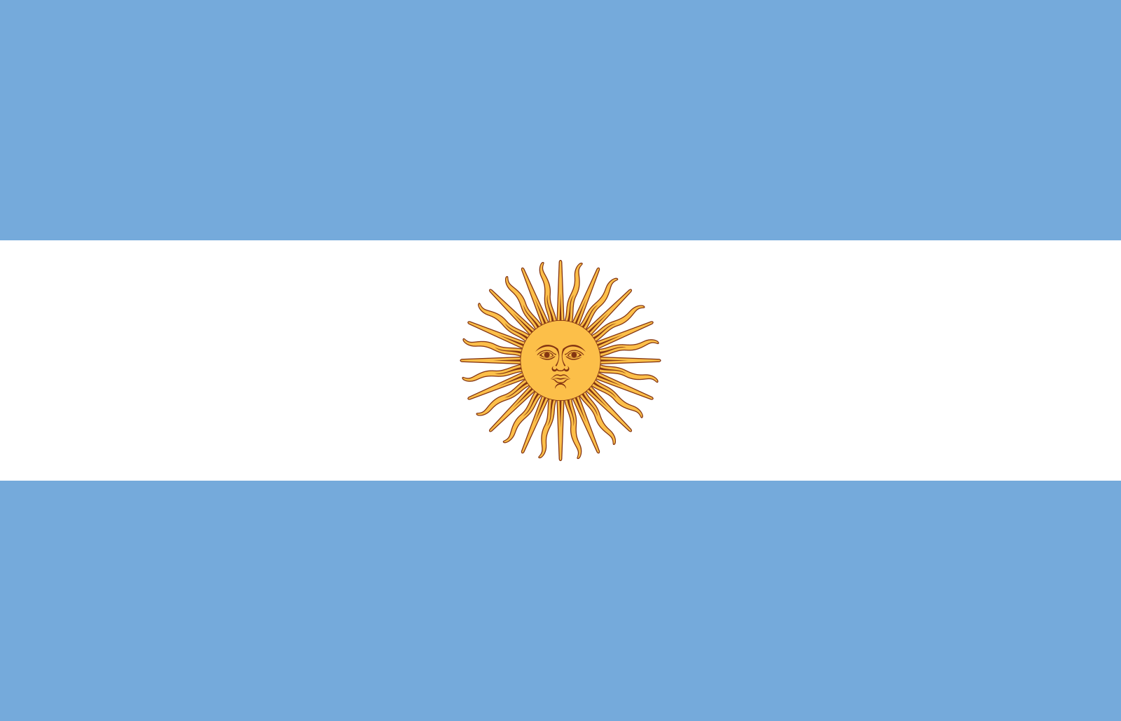 BANDERA ARGENTINA ACTUAL