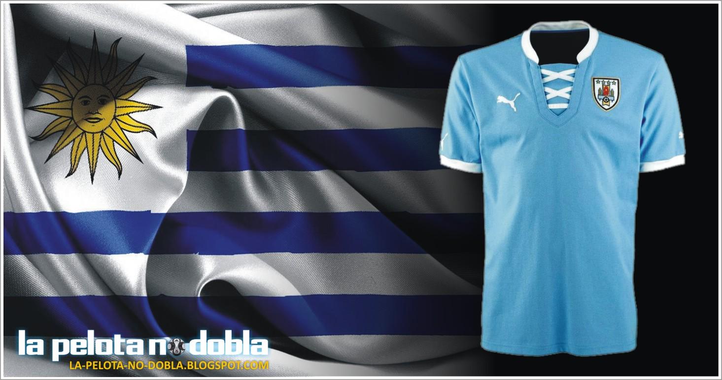 4544c54d5 17.04.2013 - PUMA presentó la nueva camiseta de la selección uruguaya de  fútbol, que sólo utilizará – como edición especial – en la Copa  Confederaciones ...