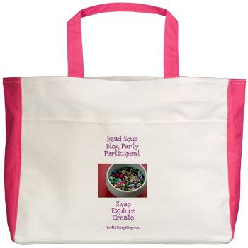 Bead Soup Blog Party Participant - Tote Bag