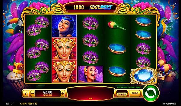 Main Gratis Slot Indonesia - Rio Pleasures Ruby Play