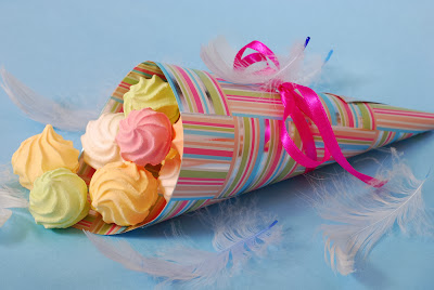 DIY Paper Treat Cones