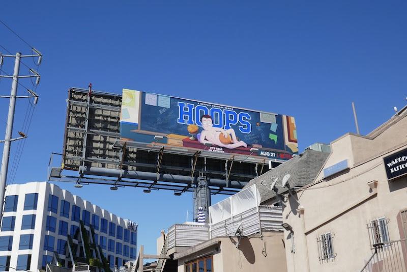 Hoops season 1 billboard