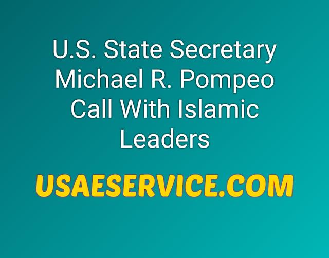 U.S. State Secretary Michael R. Pompeo