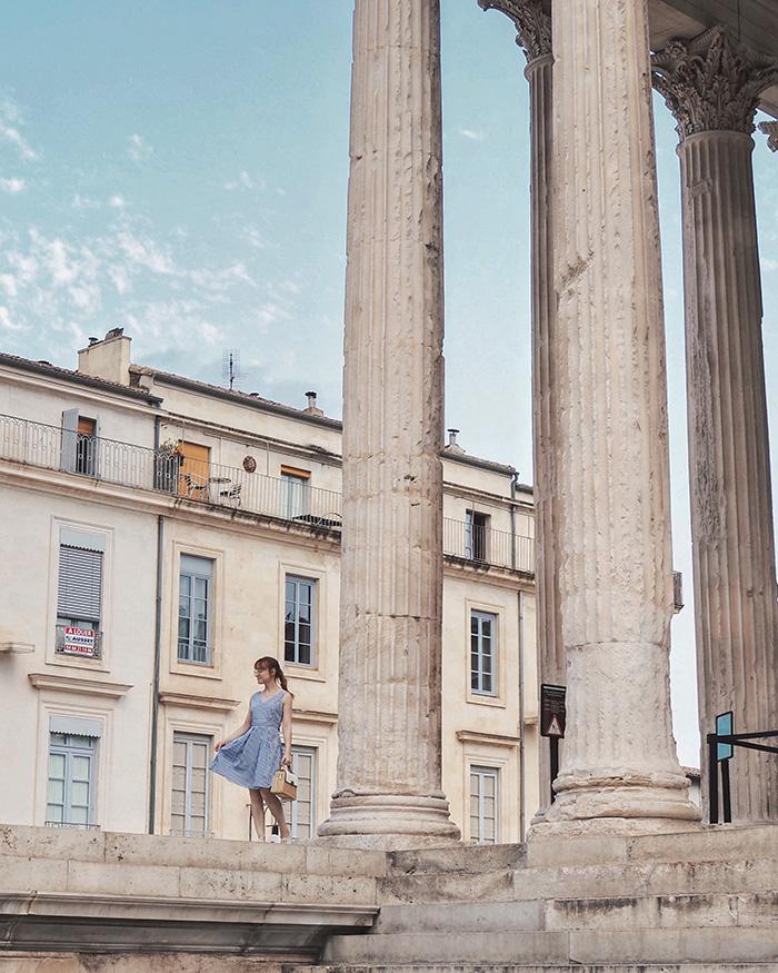 Visiter la ville de Nîmes - la Maison Carrée