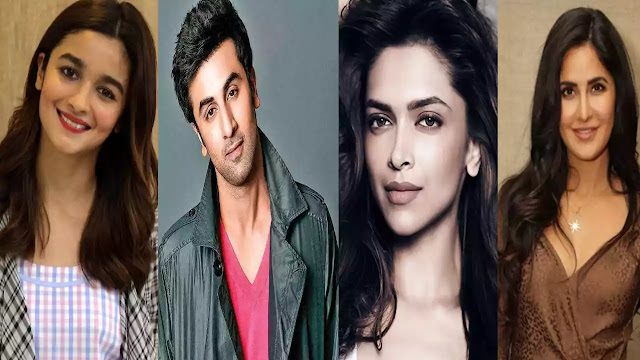 Katrina, Deepika Padukone, Alia Bhatt, Ranbir Kapoor relationship