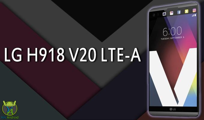 LG H918 V20 LTE-A Full Specs Datasheet