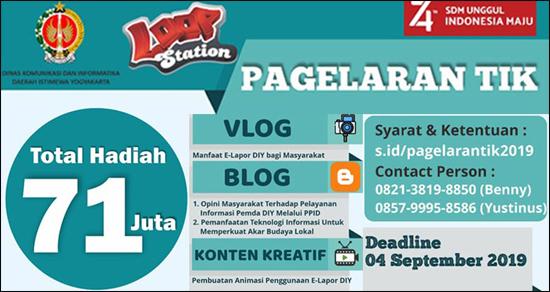 Kontes Blog Pagelaran TIK DIY