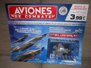 coleccion de salvat aviones de combate