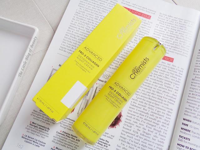 SkinChemists Advanced Pro-5 Collagen Oxygenating night cream