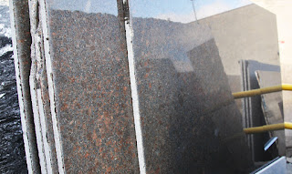 Lempengan granit asli (alam)