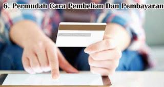 Permudah Cara Pembelian Dan Pembayaran  merupakan tips untuk memikat hati konsumen generasi millennial