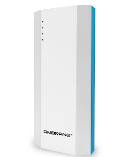 Ambrane P-1111 10000 mAh Power Bank - Blue & White @ just 599 Rs. - [ AT Snapdeal ]