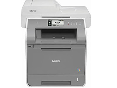 ppm Colour Printing inwards both coloring in addition to dark Brother MFC-L9550CDW Driver Downloads