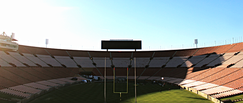 los angeles memorial coliseum stadium