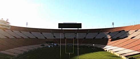 los angeles memorial coliseum stadium