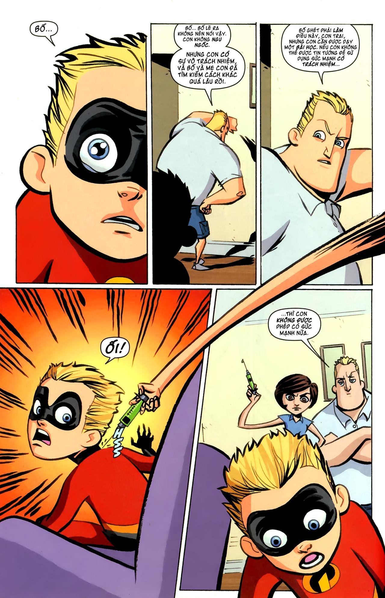 The Incredibles | Gia Đình Siêu Nhân
