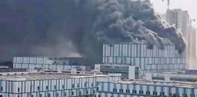 Laboratorium Huawei Kebakaran, Tiga Orang Dilaporkan Tewas Terbakar Dalam Gedung