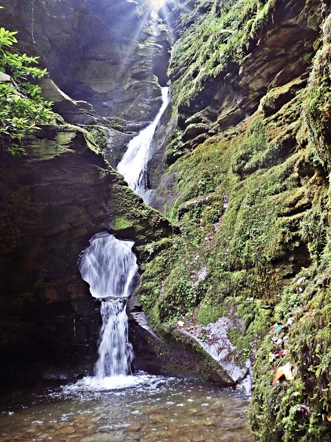 Waterfall at Trevethy Tintagel, Cornwall