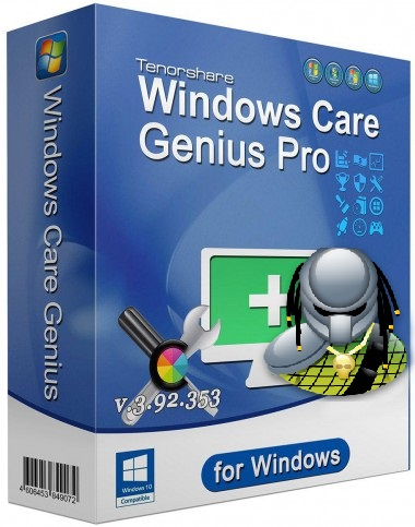 Genius Tenorshare de Windows Care Pro 3.92.353 Portable [Multi] [Pre-Activado]