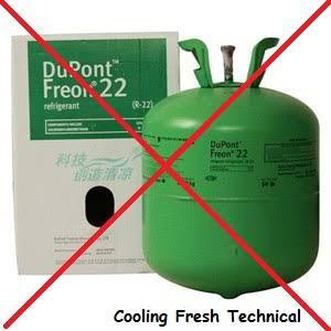 Penyebab freon R22 dilarang