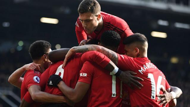 Manchester United Celebration MUFC ManUtd