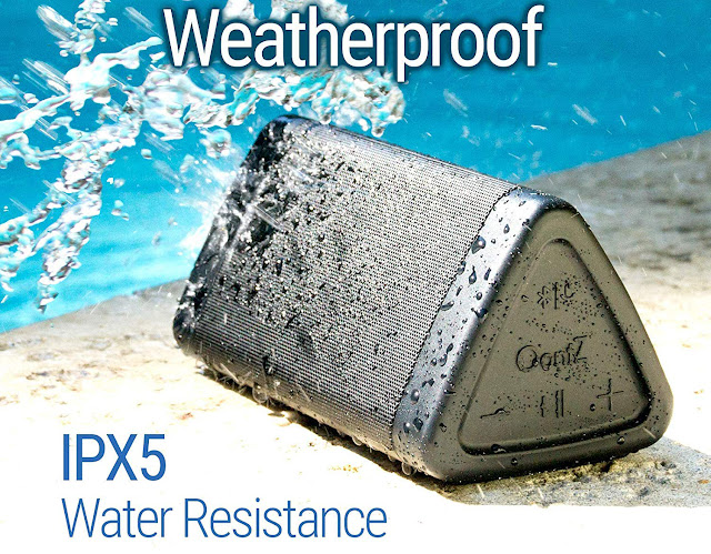Weatherproof - Perfect Speaker for the beach, shower, poolside
