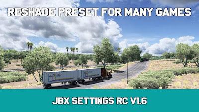 JBX Settings RC v1.6 - Reshade