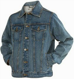 Denim Safari Jacket for Marty McFly costume