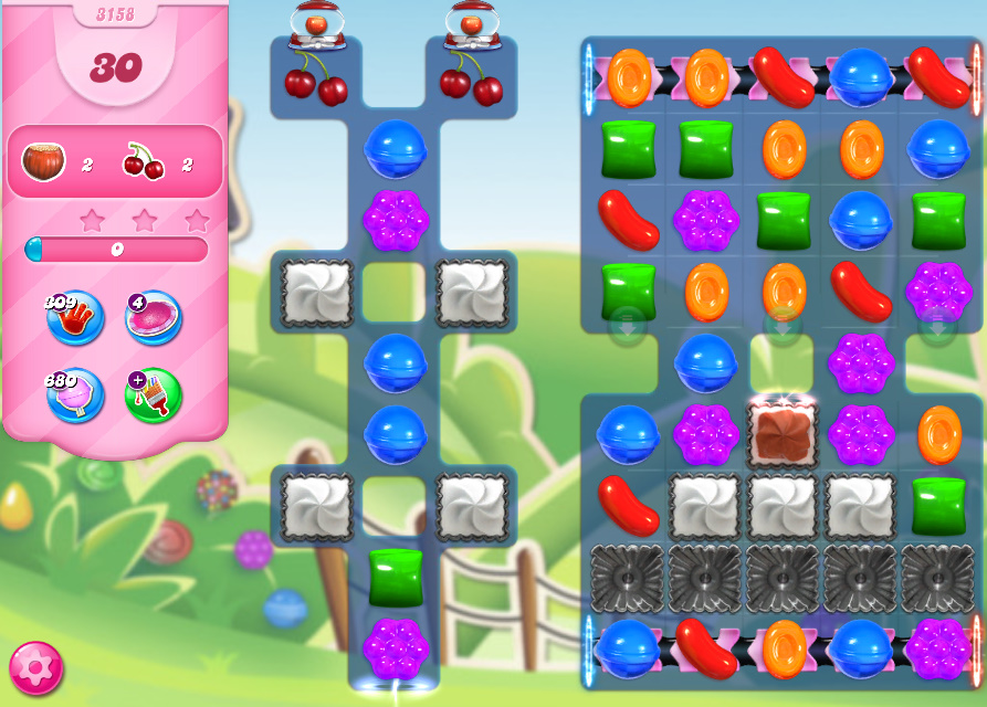 Candy Crush Saga level 3158
